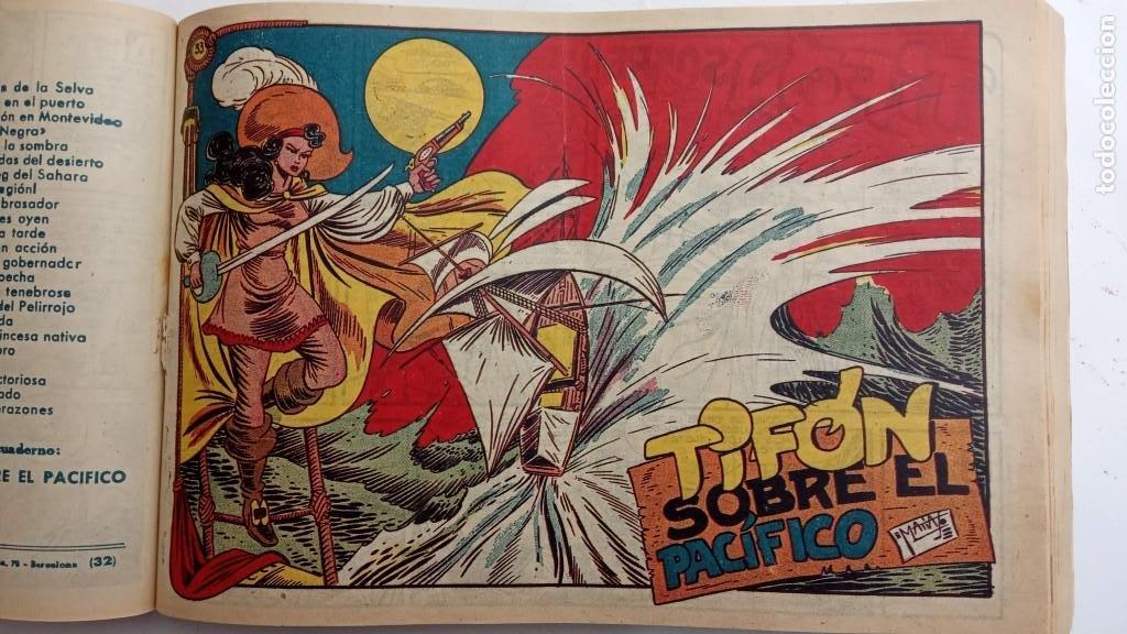 Tebeos: LA CAPITANA Y EL AMULETO VERDE ORIGINALES COMPLETAS, SERIE CHARRO TEMERARIO, MUY BUENAS, VER FOTOS - Foto 109 - 224835301