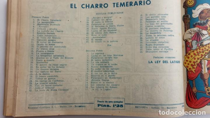 Tebeos: LA CAPITANA Y EL AMULETO VERDE ORIGINALES COMPLETAS, SERIE CHARRO TEMERARIO, MUY BUENAS, VER FOTOS - Foto 112 - 224835301