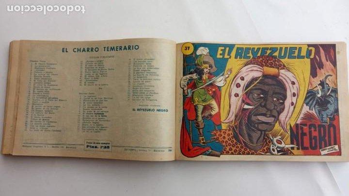 Tebeos: LA CAPITANA Y EL AMULETO VERDE ORIGINALES COMPLETAS, SERIE CHARRO TEMERARIO, MUY BUENAS, VER FOTOS - Foto 117 - 224835301