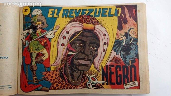 Tebeos: LA CAPITANA Y EL AMULETO VERDE ORIGINALES COMPLETAS, SERIE CHARRO TEMERARIO, MUY BUENAS, VER FOTOS - Foto 118 - 224835301