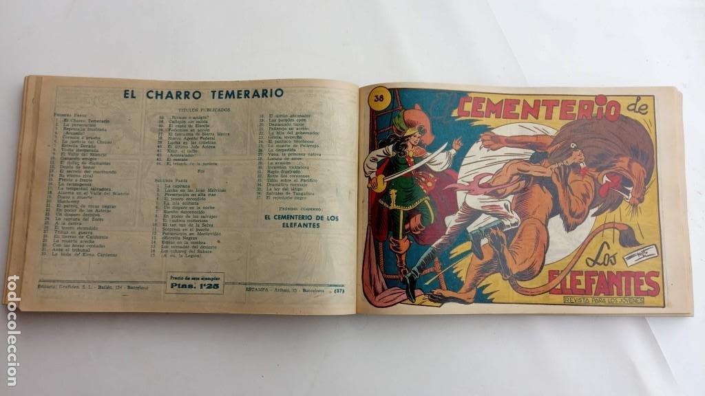 Tebeos: LA CAPITANA Y EL AMULETO VERDE ORIGINALES COMPLETAS, SERIE CHARRO TEMERARIO, MUY BUENAS, VER FOTOS - Foto 120 - 224835301