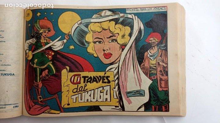 Tebeos: LA CAPITANA Y EL AMULETO VERDE ORIGINALES COMPLETAS, SERIE CHARRO TEMERARIO, MUY BUENAS, VER FOTOS - Foto 124 - 224835301