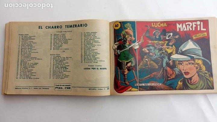 Tebeos: LA CAPITANA Y EL AMULETO VERDE ORIGINALES COMPLETAS, SERIE CHARRO TEMERARIO, MUY BUENAS, VER FOTOS - Foto 127 - 224835301
