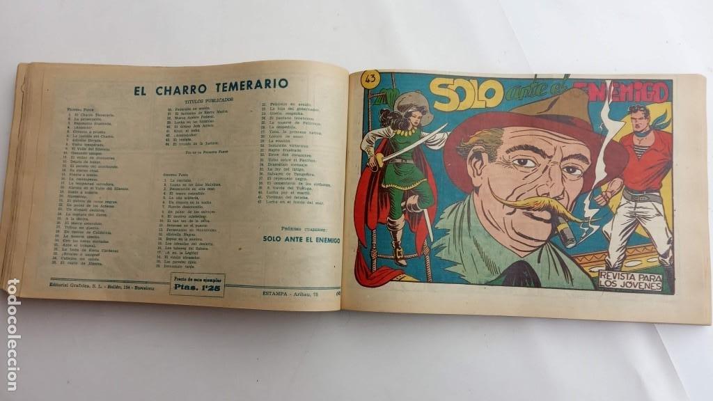 Tebeos: LA CAPITANA Y EL AMULETO VERDE ORIGINALES COMPLETAS, SERIE CHARRO TEMERARIO, MUY BUENAS, VER FOTOS - Foto 133 - 224835301