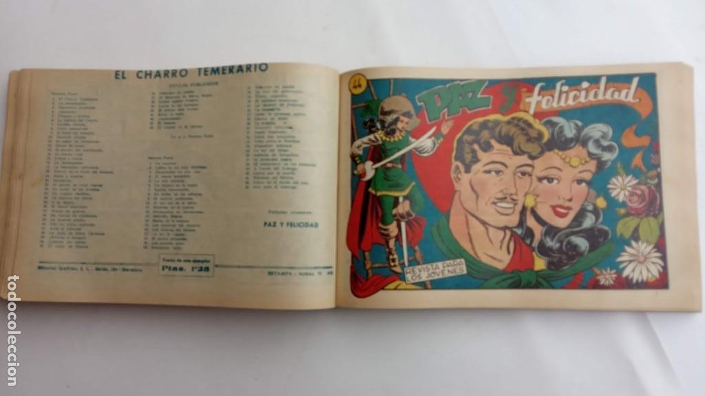 Tebeos: LA CAPITANA Y EL AMULETO VERDE ORIGINALES COMPLETAS, SERIE CHARRO TEMERARIO, MUY BUENAS, VER FOTOS - Foto 135 - 224835301