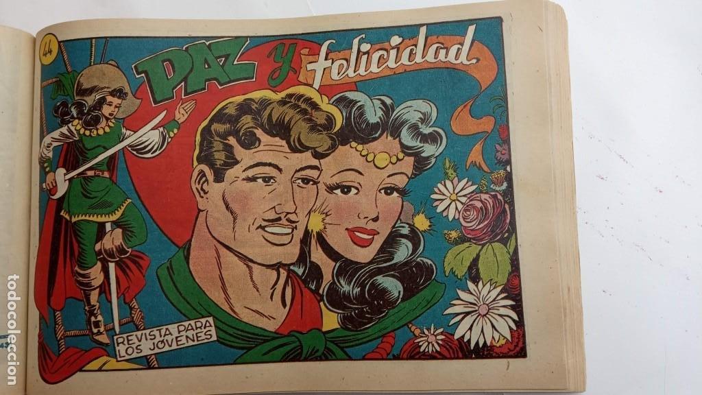 Tebeos: LA CAPITANA Y EL AMULETO VERDE ORIGINALES COMPLETAS, SERIE CHARRO TEMERARIO, MUY BUENAS, VER FOTOS - Foto 136 - 224835301