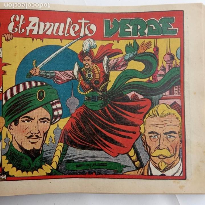 Tebeos: LA CAPITANA Y EL AMULETO VERDE ORIGINALES COMPLETAS, SERIE CHARRO TEMERARIO, MUY BUENAS, VER FOTOS - Foto 140 - 224835301