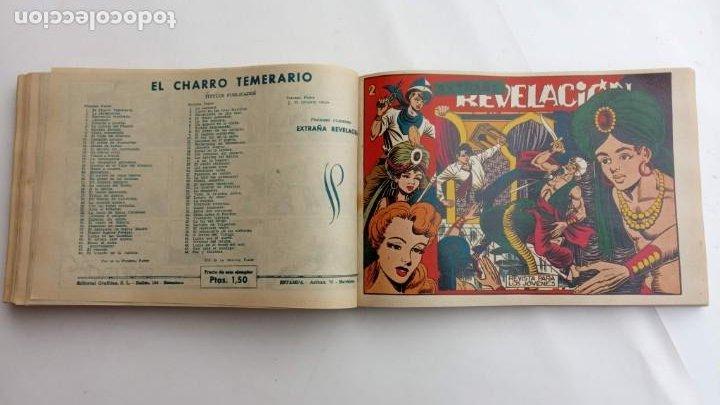 Tebeos: LA CAPITANA Y EL AMULETO VERDE ORIGINALES COMPLETAS, SERIE CHARRO TEMERARIO, MUY BUENAS, VER FOTOS - Foto 141 - 224835301