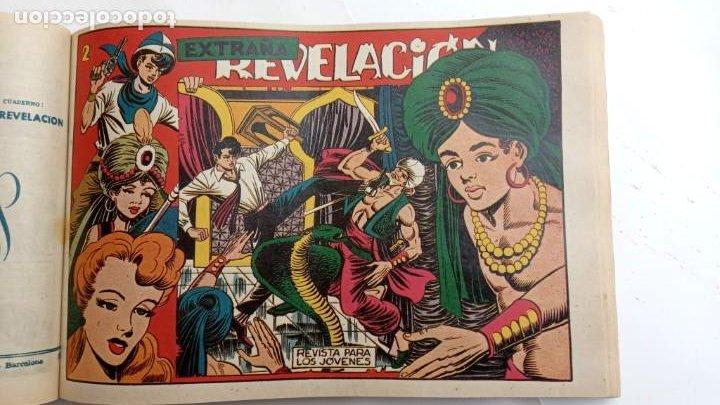 Tebeos: LA CAPITANA Y EL AMULETO VERDE ORIGINALES COMPLETAS, SERIE CHARRO TEMERARIO, MUY BUENAS, VER FOTOS - Foto 142 - 224835301