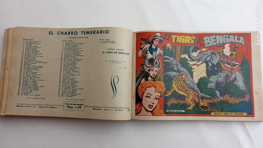 Tebeos: LA CAPITANA Y EL AMULETO VERDE ORIGINALES COMPLETAS, SERIE CHARRO TEMERARIO, MUY BUENAS, VER FOTOS - Foto 144 - 224835301