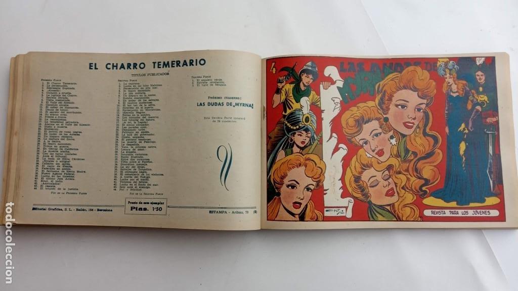 Tebeos: LA CAPITANA Y EL AMULETO VERDE ORIGINALES COMPLETAS, SERIE CHARRO TEMERARIO, MUY BUENAS, VER FOTOS - Foto 148 - 224835301