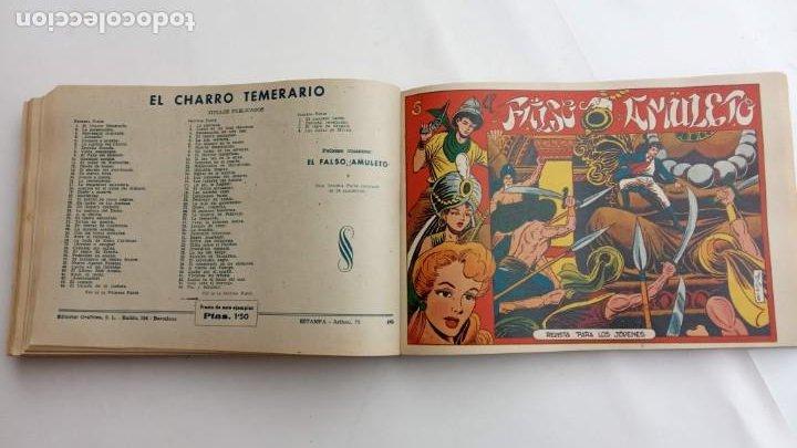 Tebeos: LA CAPITANA Y EL AMULETO VERDE ORIGINALES COMPLETAS, SERIE CHARRO TEMERARIO, MUY BUENAS, VER FOTOS - Foto 150 - 224835301