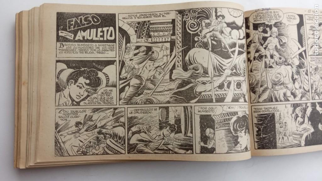 Tebeos: LA CAPITANA Y EL AMULETO VERDE ORIGINALES COMPLETAS, SERIE CHARRO TEMERARIO, MUY BUENAS, VER FOTOS - Foto 152 - 224835301
