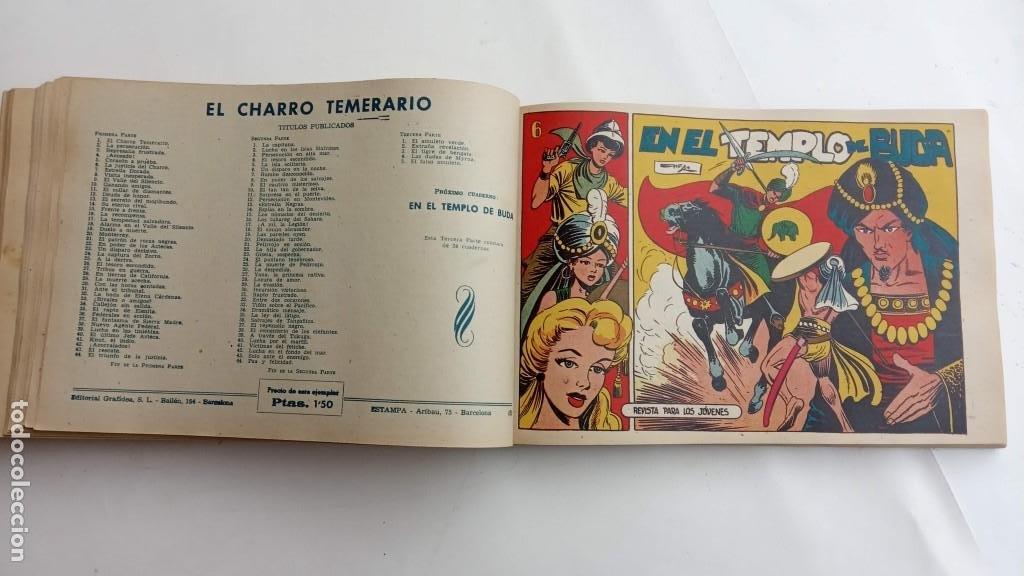 Tebeos: LA CAPITANA Y EL AMULETO VERDE ORIGINALES COMPLETAS, SERIE CHARRO TEMERARIO, MUY BUENAS, VER FOTOS - Foto 153 - 224835301