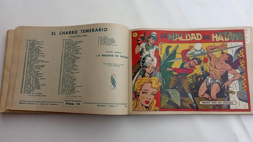 Tebeos: LA CAPITANA Y EL AMULETO VERDE ORIGINALES COMPLETAS, SERIE CHARRO TEMERARIO, MUY BUENAS, VER FOTOS - Foto 156 - 224835301