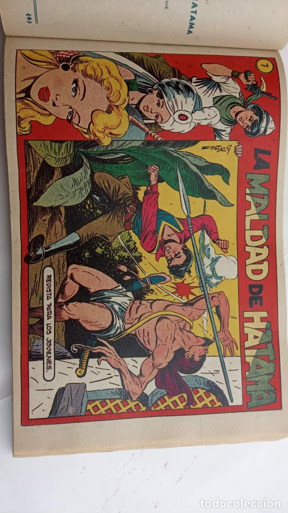 Tebeos: LA CAPITANA Y EL AMULETO VERDE ORIGINALES COMPLETAS, SERIE CHARRO TEMERARIO, MUY BUENAS, VER FOTOS - Foto 157 - 224835301