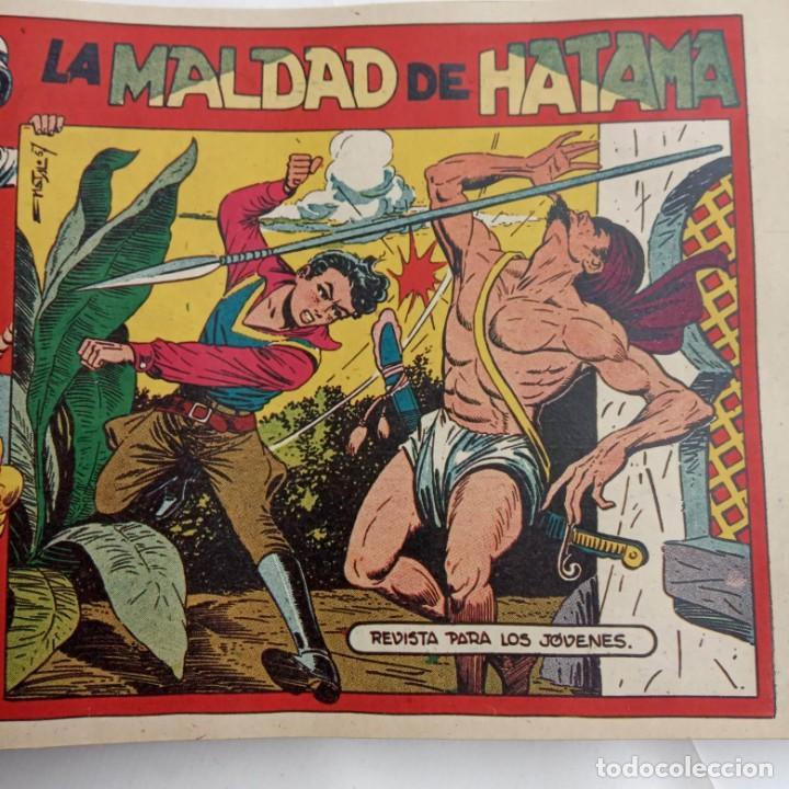 Tebeos: LA CAPITANA Y EL AMULETO VERDE ORIGINALES COMPLETAS, SERIE CHARRO TEMERARIO, MUY BUENAS, VER FOTOS - Foto 158 - 224835301