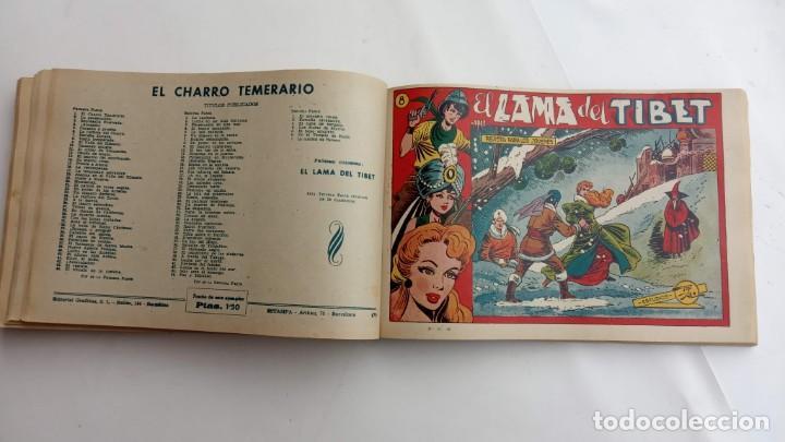 Tebeos: LA CAPITANA Y EL AMULETO VERDE ORIGINALES COMPLETAS, SERIE CHARRO TEMERARIO, MUY BUENAS, VER FOTOS - Foto 161 - 224835301