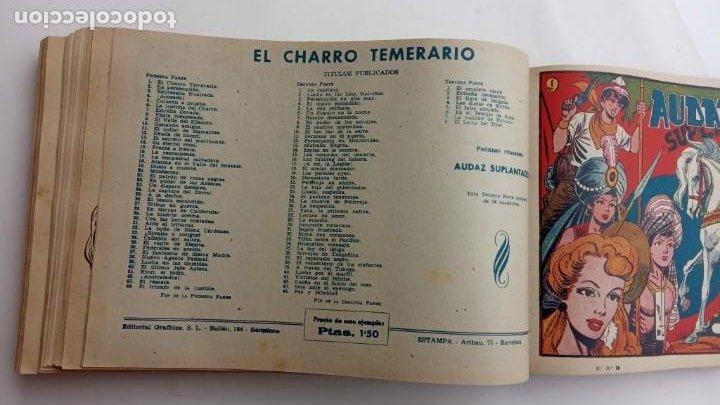 Tebeos: LA CAPITANA Y EL AMULETO VERDE ORIGINALES COMPLETAS, SERIE CHARRO TEMERARIO, MUY BUENAS, VER FOTOS - Foto 165 - 224835301