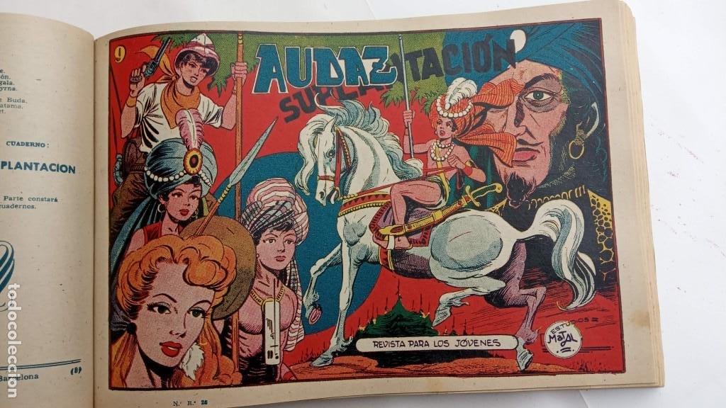 Tebeos: LA CAPITANA Y EL AMULETO VERDE ORIGINALES COMPLETAS, SERIE CHARRO TEMERARIO, MUY BUENAS, VER FOTOS - Foto 166 - 224835301