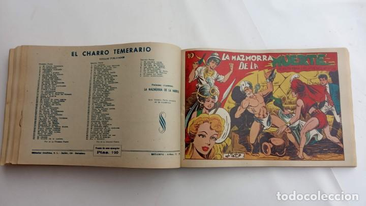Tebeos: LA CAPITANA Y EL AMULETO VERDE ORIGINALES COMPLETAS, SERIE CHARRO TEMERARIO, MUY BUENAS, VER FOTOS - Foto 168 - 224835301