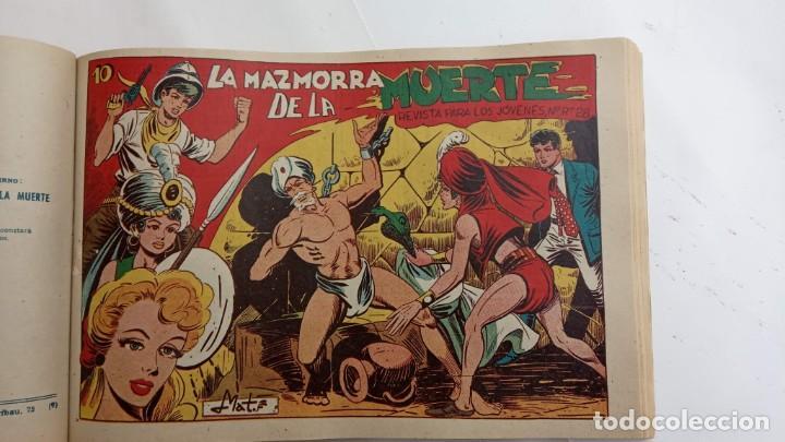 Tebeos: LA CAPITANA Y EL AMULETO VERDE ORIGINALES COMPLETAS, SERIE CHARRO TEMERARIO, MUY BUENAS, VER FOTOS - Foto 169 - 224835301