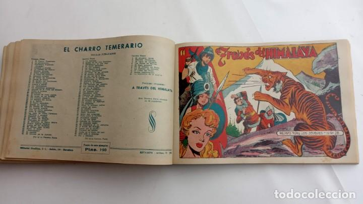 Tebeos: LA CAPITANA Y EL AMULETO VERDE ORIGINALES COMPLETAS, SERIE CHARRO TEMERARIO, MUY BUENAS, VER FOTOS - Foto 170 - 224835301