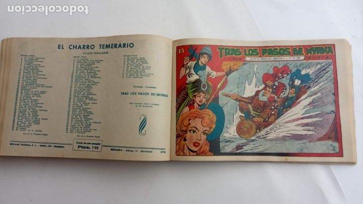 Tebeos: LA CAPITANA Y EL AMULETO VERDE ORIGINALES COMPLETAS, SERIE CHARRO TEMERARIO, MUY BUENAS, VER FOTOS - Foto 175 - 224835301