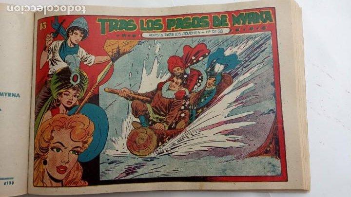 Tebeos: LA CAPITANA Y EL AMULETO VERDE ORIGINALES COMPLETAS, SERIE CHARRO TEMERARIO, MUY BUENAS, VER FOTOS - Foto 176 - 224835301