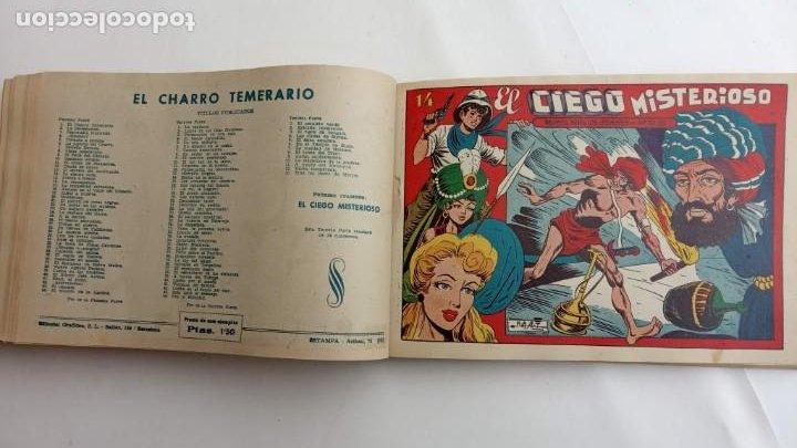Tebeos: LA CAPITANA Y EL AMULETO VERDE ORIGINALES COMPLETAS, SERIE CHARRO TEMERARIO, MUY BUENAS, VER FOTOS - Foto 177 - 224835301