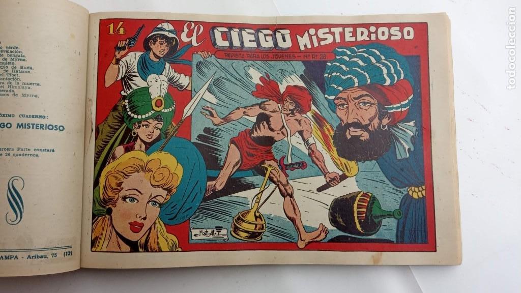 Tebeos: LA CAPITANA Y EL AMULETO VERDE ORIGINALES COMPLETAS, SERIE CHARRO TEMERARIO, MUY BUENAS, VER FOTOS - Foto 178 - 224835301