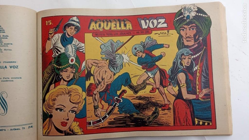 Tebeos: LA CAPITANA Y EL AMULETO VERDE ORIGINALES COMPLETAS, SERIE CHARRO TEMERARIO, MUY BUENAS, VER FOTOS - Foto 180 - 224835301