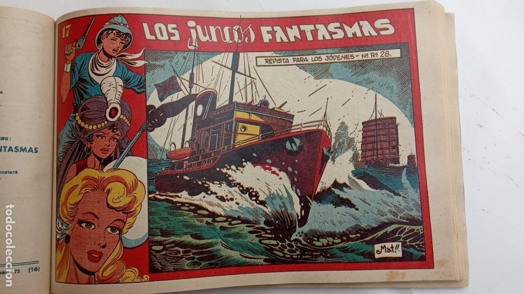 Tebeos: LA CAPITANA Y EL AMULETO VERDE ORIGINALES COMPLETAS, SERIE CHARRO TEMERARIO, MUY BUENAS, VER FOTOS - Foto 185 - 224835301