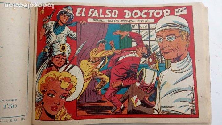 Tebeos: LA CAPITANA Y EL AMULETO VERDE ORIGINALES COMPLETAS, SERIE CHARRO TEMERARIO, MUY BUENAS, VER FOTOS - Foto 187 - 224835301