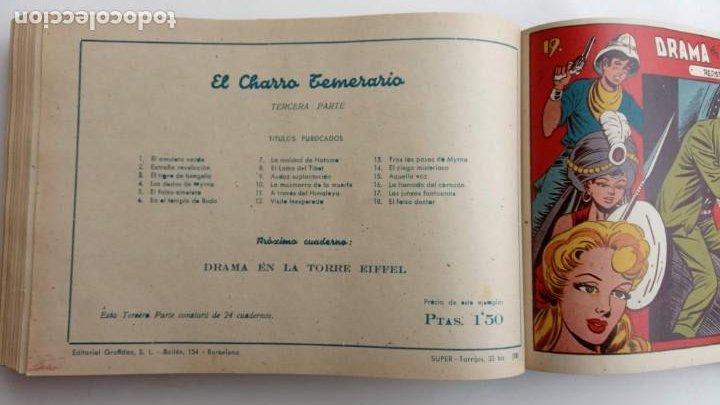 Tebeos: LA CAPITANA Y EL AMULETO VERDE ORIGINALES COMPLETAS, SERIE CHARRO TEMERARIO, MUY BUENAS, VER FOTOS - Foto 188 - 224835301