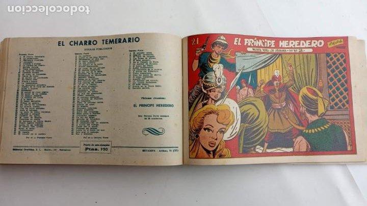Tebeos: LA CAPITANA Y EL AMULETO VERDE ORIGINALES COMPLETAS, SERIE CHARRO TEMERARIO, MUY BUENAS, VER FOTOS - Foto 191 - 224835301