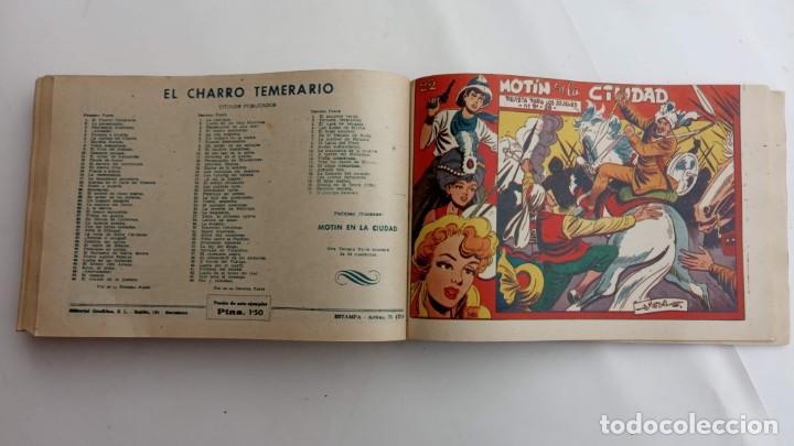Tebeos: LA CAPITANA Y EL AMULETO VERDE ORIGINALES COMPLETAS, SERIE CHARRO TEMERARIO, MUY BUENAS, VER FOTOS - Foto 194 - 224835301