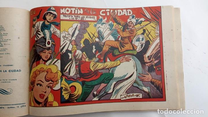 Tebeos: LA CAPITANA Y EL AMULETO VERDE ORIGINALES COMPLETAS, SERIE CHARRO TEMERARIO, MUY BUENAS, VER FOTOS - Foto 195 - 224835301
