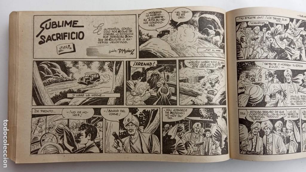 Tebeos: LA CAPITANA Y EL AMULETO VERDE ORIGINALES COMPLETAS, SERIE CHARRO TEMERARIO, MUY BUENAS, VER FOTOS - Foto 198 - 224835301