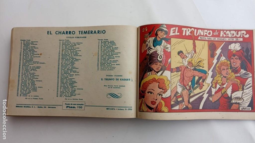 Tebeos: LA CAPITANA Y EL AMULETO VERDE ORIGINALES COMPLETAS, SERIE CHARRO TEMERARIO, MUY BUENAS, VER FOTOS - Foto 199 - 224835301