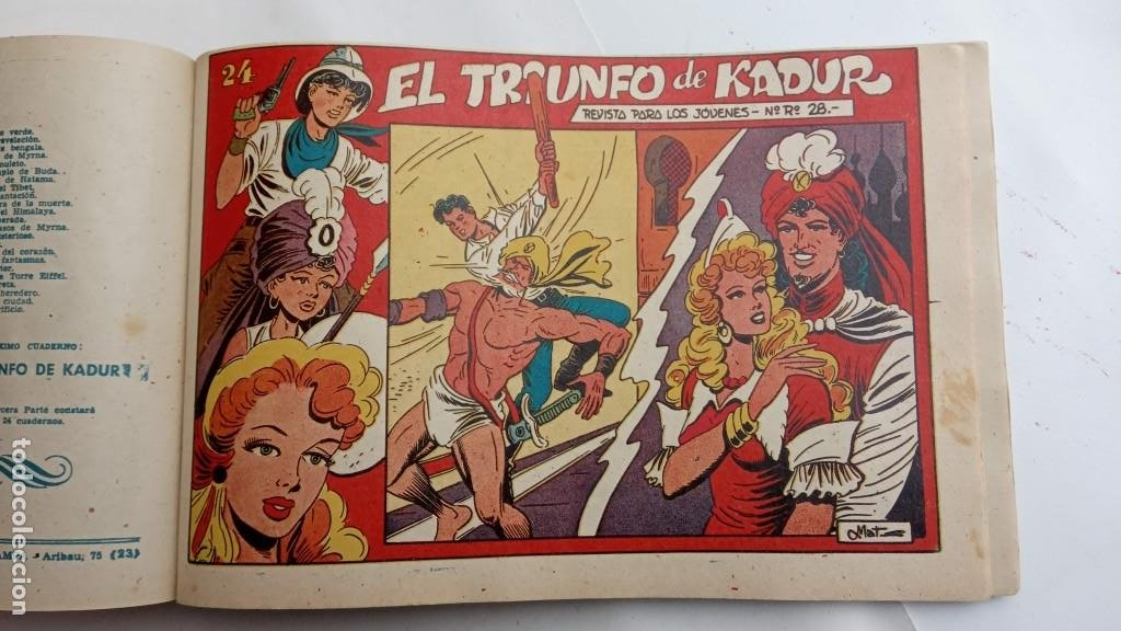 Tebeos: LA CAPITANA Y EL AMULETO VERDE ORIGINALES COMPLETAS, SERIE CHARRO TEMERARIO, MUY BUENAS, VER FOTOS - Foto 200 - 224835301