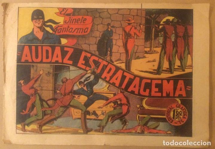 EL JINETE FANTASMA AUDAZ ESTRATAGEMA Nº 007 ORIGINAL EDITORIAL GRAFIDEA 1'60 PTS TEBEO COMIC (Tebeos y Comics - Grafidea - El Jinete Fantasma)