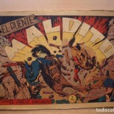 Tebeos: EL JINETE FANTASMA - Nº 105 - EL PUENTE MALDITO - ORIGINAL - EDITORIAL GRAFIDEA. Lote 226412840