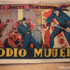 Tebeos: EL JINETE FANTASMA - Nº 48 - ODIO A MUERTE - ORIGINAL - EDITORIAL GRAFIDEA. Lote 226413045