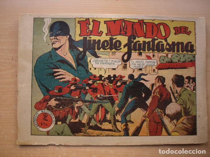 EL JINETE FANTASMA - Nº 44 - EL MANDO DEL JINETE FANTASMA - ORIGINAL - EDITORIAL GRAFIDEA (Tebeos y Comics - Grafidea - El Jinete Fantasma)