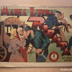 Tebeos: EL JINETE FANTASMA - Nº 43 - MARIA LUISA RIBALTA - ORIGINAL - EDITORIAL GRAFIDEA. Lote 226413295