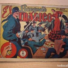Tebeos: EL JINETE FANTASMA - Nº 38 - EL BANQUETE TRAGICO - ORIGINAL - EDITORIAL GRAFIDEA. Lote 226413435