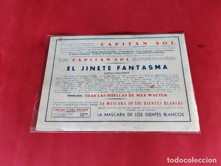 Tebeos: EL JINETE FANTASMA Nº 39 -GRAFIDEA-1947-ORIGINAL-EXCELENTE ESTADO - Foto 2 - 226493860