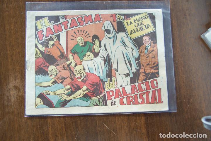 GRAFIDEA,- LA MANO QUE APRIETA Nº 6 EL FANTASMA DE PALACIO (Tebeos y Comics - Grafidea - Otros)