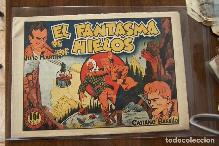 Tebeos: grafidea,- Casiano barullo y julio Martín 1ª nº 2-9 AL 13- 15- 21- 23 - Foto 9 - 167613098